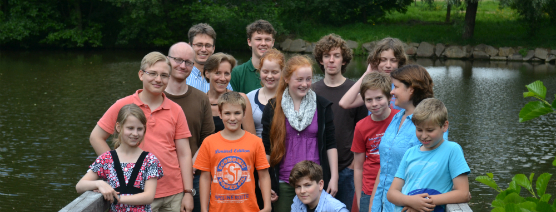 Komponistenklasse Dresden im Sommerkurs 2013 in Limbach_Foto Jana Neddermeyer