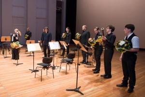 Komponistenklasse Dresden 2014 Probe Festspielhaus Hellerau