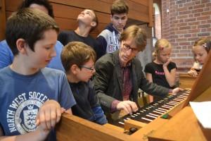 Orgelworkshop mit dem Ratzeburger Domkantor Christian Skobowsky