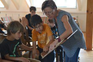 Gastdozentin Annette Schlünz im Ferienkurs der Komponistenklasse Dresden_Foto Jana Neddermeyer